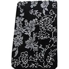 Black And White Bathroom Rugs Black Bath Rugs Bath Mats For Less Overstock