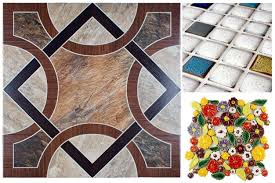 gorgeous home depot ceramic floor tile on collage with three