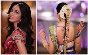 marriage bridal hairstyle indian bridal hairstyle guide youtube