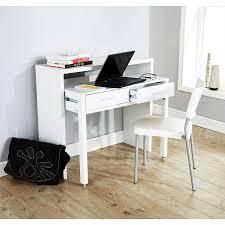 regis extending console table study computer desk 2 drawers