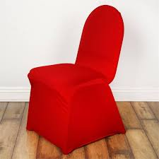 Spandex Banquet Chair Covers Red Spandex Chair Cover Efavormart