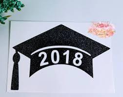 graduation cap stickers graduation cap decal etsy