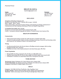 Example Of A Well Written Resume Resume Objectives 46 Free Sample Example Format Download Learn