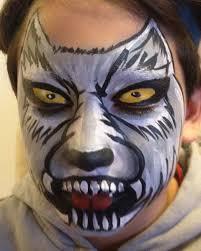 wolf face paint halloween costumes pinterest wolf face paint