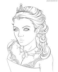 queen coloring pages download print free