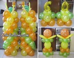 balloon arrangements for birthday hawaiian balloon decoration for a 60th birthday at tingub mandaue
