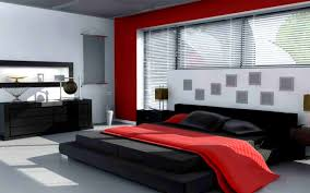 bedroom entrancing red bedroom design white accent walls master