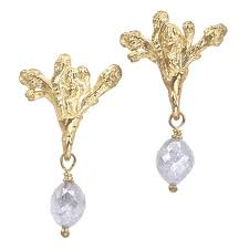 dangling earrings paulette diamond dangle earrings barbara