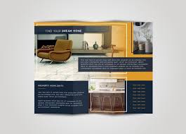 template for flyer free tri fold brochure free indesign template