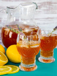 lavender tea lemon lavender iced tea refreshing floral recipe