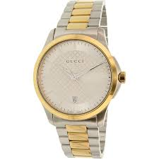 Resume Job Quartz by Gucci Men U0027s G Timeless Ya126450 Silver Stainless Steel Swiss