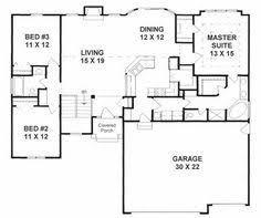 split ranch floor plans 3 bedroom ranch floor plans floor plans aflfpw75216 1 split