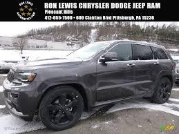 2016 jeep grand cherokee black 2016 granite crystal metallic jeep grand cherokee overland
