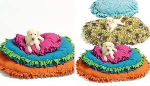 Cute Puppy Beds Pet Bed 40 No Sew Diy Projects To Make From Brit Co