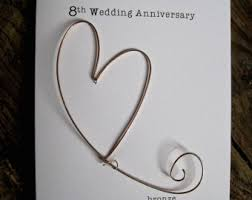 8th year anniversary gift 8th wedding anniversary gift ideas for