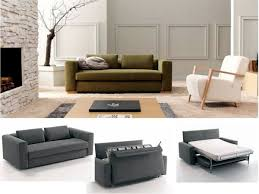 bulky sofa bed like a good alternative to the big bed interior
