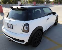 matte white bmw got my mini wrapped matte white north american motoring