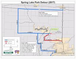 Lake County Illinois Map by Spring Lake Park