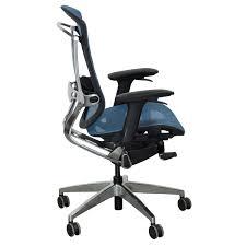 light blue desk chair gosit new ergonomic chair light blue national office interiors