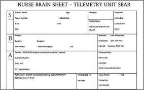 Nursing Report Sheet Templates Nursing Report Template Happiness Comes In Bits Grad