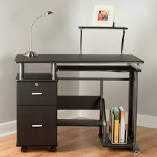 Wholesale Computer Desks by Amazon Com Comfort Products Rothmin Computer Desk With Storage