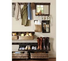 Pottery Barn Shelf With Hooks Build Your Own Gabrielle System Components Pottery Barn