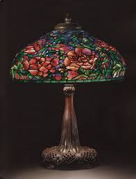 tiffany lamps 10 things you need to know christie s tiffany studios an elaborate peony leaded glass and bronze table lamp circa