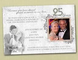 25th wedding anniversary invitation wording vertabox