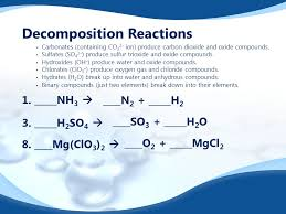 predicting products of chemical reactions synthesis reactions