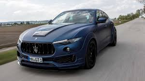 cheapest maserati novitec baptizes its widebody maserati levante the esteso