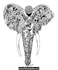 elephant butterfly ears meaning tattoos