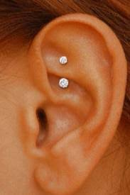 earring top of ear rook piercing piercings and tattoo s ear piercings