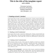 simple business report template report templates free business template