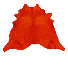 Calf Skin Rug Dyed Calfskin Rug