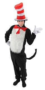 amazon com elope dr seuss cat in costume clothing