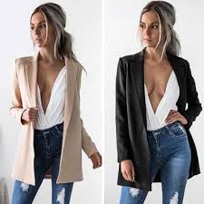 aliexpress com buy women slim cotton cardigan suit coat business