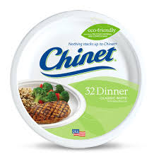 chinet plates heavy duty paper dinner plates chinet classic white