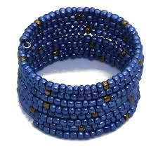 beaded wire bracelet images Handmade memory wire wrap beaded bracelet viya crafts jpg
