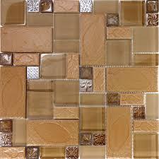 kitchen glass mosaic tile backsplash for elegant kitchen decor
