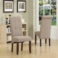 Tufted Leather Dining Chair Amazon Com Simpli Home Cosmopolitan Deluxe Tufted Parson Chair