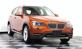 2013 used bmw x1 certified x1 xdrive28i awd x line navigation at