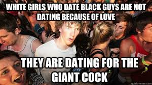 Black Man White Woman Meme - the phenomenon of white women who only date black men black