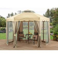 Outdoor Gazebo Curtains Curtains Gazebo Curtains Amazon Com Privacy Panel Side Wall Fits