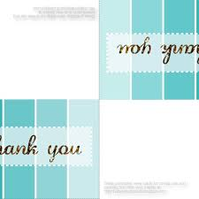 online thank you cards printed thank you cards online collections printable foldable inside