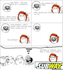 Make A Comic Meme - now go n make me a sandwich by samiem meme center