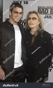 Bad Boys Ii Actress Faye Dunaway Son Liam Oneill Stock Photo 98470856