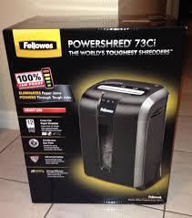 fellowes powershred 73ci paper shredder review who said nothing