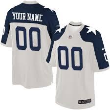 Dallas Cowboy Thanksgiving Game Custom Dallas Cowboys Jerseys Customized Nike Nfl Jerseys