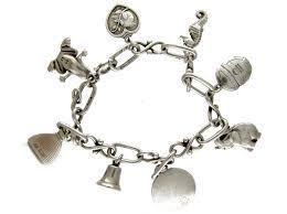 charm bracelet silver charms images Georg jensen silver charm bracelet the antique jewellery company jpg