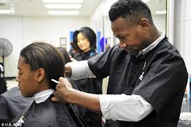 forced female haircuts on men navy to stop cutting the hair of female recruits short upon